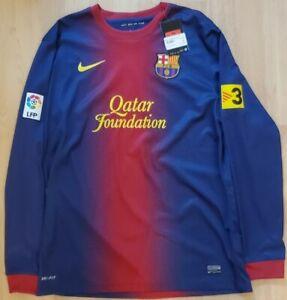 Barcelona jersey LARGE 2012 2013 shirt long sleeve 478324-410 soccer Nike ig93