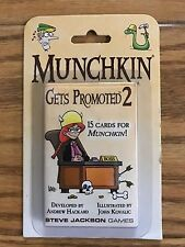 Munchkin Gets Promoted 2 Booster Pack 15 Cards