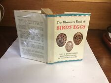 Observers Book Of Birds Eggs 1960;