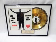 Rare! Shaquille O'Neal Skillz 12 Inch Limited Edition Gold Record Single Release