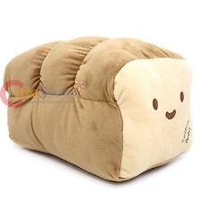 "Large Unsliced Bread Cushion Food Pillow 16"" Food Plush Cotton Food Stuffed Toy"