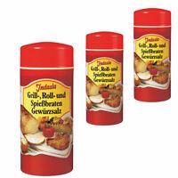 Grill-, Roll- und Spießbraten-Gewürzsalz - Indasia 3 x 250g (16,67 EUR/kg)