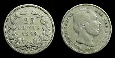 Netherlands - 25 Cent 1849 Fraai