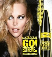 Maybelline The Colossal Go Extreme Volum'Express Leather Black Mascara-