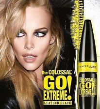Maybelline las colosales Go Extreme Volum 'Express Máscara De Cuero Negro -