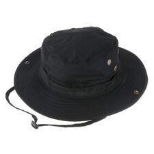 Wasserdichter Boonie Hat Outdoor Hut Schwarz 56-62cm T2I8 X5J5