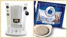 Macchina Caffè Cialde Faber Slot Plast + 150 Cialde Caffè Borbone Qualità Blu