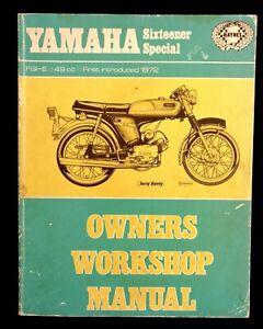 Yamaha SS50 FS1-E Sixteener Special 1972-74 (SS50 FS1E) Haynes Manual 166 LAST 1