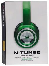Monster N-TUNE HD On-Ear Noise Isolating Headphones - Candy Lime (Green)
