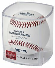 Rawlings Official Major League Baseball with Display Case ROMLB-R Autograph Ball