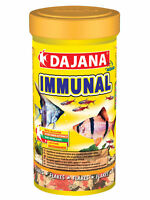 Dajana Immune System Booster Fish Food Flakes, 100ml/20g for all types of fish