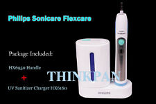 Philips Sonicare Flexcare Toothbrush HX6950 Handle&UV Sanitizer Charger w/o box