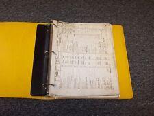 Lorain L50K Hydraulic Truck Crane Factory Original Parts Catalog Manual Book