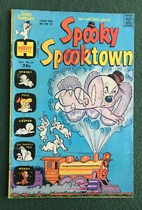 Spooky Spooktown #53 Harvey Comics Silver Age giant size g/vg