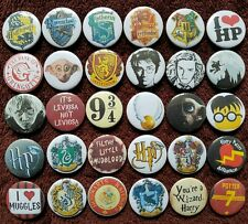 Harry Potter Button Badges x 30. Pins. Wholesale. Collector. Bargain :0)