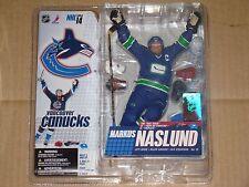 Mcfarlane NHL 14 Markus Naslund Retro Variant Figure Dent Packaging