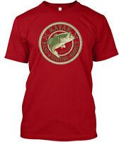 Kayak Bass Fishing Addict Catch & Release Hanes Tagless Tee T-Shirt