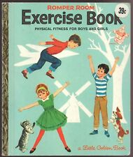 Vintage Children's Little Golden Book ~ Romper Room EXERCISE BOOK