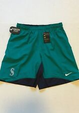 Nike Seattle Mariners Teal Authentic Collection Dry Woven Performance Shorts XL