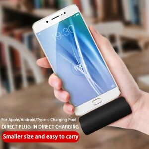 Mini Power Bank Portable External Backup Battery Charger For iPhone 12 Samsung