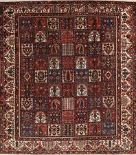 New listing Antique Garden Design Oriental Bakhtiari Area Rug Wool Hand-Knotted 10x12 Carpet