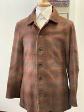 "Western Civilian Wool Sack Coat - Civil War, 19th cent Re-enacting, Sz 46"" Chest"