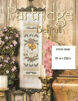 PARTRIDGE BELLPULL   -  CROSS STITCH  PATTERN   PY - UYW