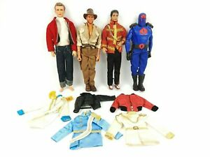 Vintage Michael Jackson Indiana Jones Cobra Commander James Dean Action Figures