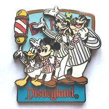 Disney épinglette DLR Dapper Dans Salon de coiffure Quartet Dingo Donald Duck