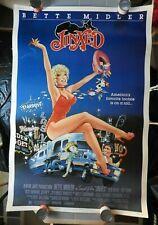 "1982 Bette Midler ""JINXED"" 40"" x 60"" Poster Ken Wahl Rip Torn Benson Fong NICE"