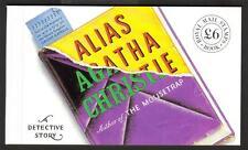 GB 1991 DX12 alias Agatha Christie £ 6.00 Prestige booklet