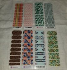 Lot Of 8 Jamberry Half Sheets ~ Exlusives, Peacock, Feathers