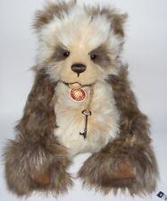 "Charlie Bears 2009 Isabelle Lee 19"" SIMON  jointed PANDA Teddy Bear"