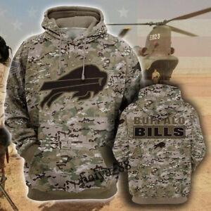 Buffalo Bills Hoodie Hooded Sweatshirt Sports Coat Spring Jacket Gift for Fans