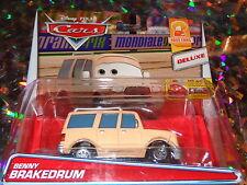 "DISNEY PIXAR CARS ""BENNY BRAKEDRUM"" Die-Cast Metal, Deluxe, BRAND NEW, Mattel"