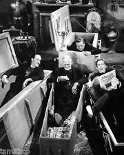 Boris Karloff with Basil Rathbone, Peter Lorre and Vincent Price 8x10 Photo 057