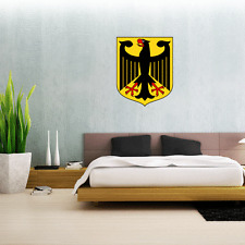 Germany German Coat Of Arms Wall Decal Large Vinyl Sticker 24