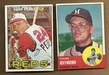 1963 TOPPS CLAUDE RAYMOND # 519  NEAR MINT