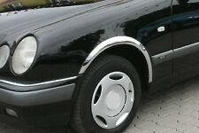 MERCEDES W210 berline / break '95-02 Extensions d'aile Neuves Noir mat ou Chrome