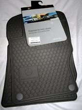 2007 to 2012 Mercedes Benz GL450 Rubber Floor Mats - GENUINE FACTORY ITEMS -GRAY