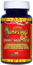 4 Organics Jump Start Ex Extreme (60 Caps) Natural Energy Herbal Focus Stimulant