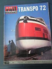 Vie du rail 1972 1353 BACOUEL HELLEMMES CHARLEROI MONTGERON