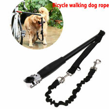Dog Pet Leash for Bike Exercise Hands Free Bicycle Walk Run Attachment Accessory
