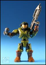 HALO MEGA BLOKS GREEN UNSC SPARTAN AIR ASSAULT FIGURE CNH01 OUTLANDS SKIRMISH