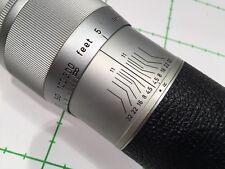 LEITZ LEICA HEKTOR 13.5cm 1:4.5 - chrome - SERIAL 1127019 - REF:CK8550