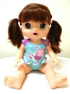 Hasbro Baby Alive Sweet Tears Doll Brunette CO958 Interactive speaks,cries 37cm