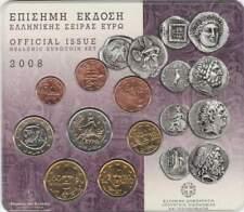 Griekenland BU set 2008 / 1 cent - 2 euro KMS