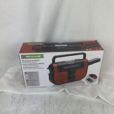 WeatherX Radio WeatherBand AM/FM Radio LED Flashlight Lantern Speaker LN™