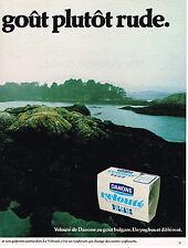 PUBLICITE ADVERTISING 015  1979  DANONE  yaourts veloutés BULGARE