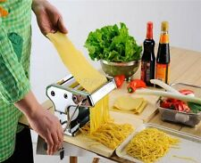 Kitchen Noodle Making Machine Pasta Maker & Roller, Spaghetti&Fettuccine Maker